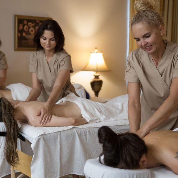 Studija 8 - keturios masažistės